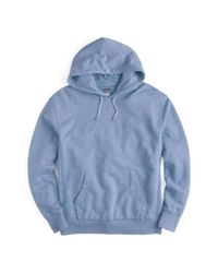 J.Crew - Blue J.crew Garment Dyed French Terry Hoodie for Men - Lyst