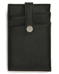 Want Les Essentiels De La Vie   Black 'kennedy' Money Clip Wallet for Men   Lyst