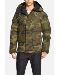 Canada Goose Green Macmillan Hooded Down Parka for men