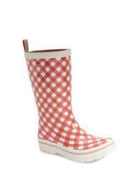Helly Hansen White 'midsund' Rain Boot