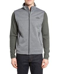 The North Face | Gray 'canyonwall' Wind Resistant Vest for Men | Lyst