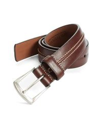 Allen Edmonds - Brown 'dry Fork' Belt for Men - Lyst