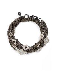 Armenta - Black New World Double Wrap Scroll Bracelet - Lyst