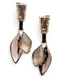 Alexis Bittar | Multicolor Lucite Smoky Crystal Drops | Lyst