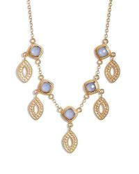 Anna Beck - Metallic Charm Necklace - Lyst