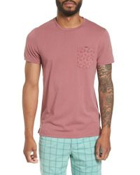 Ted Baker - Pink Bothy Modern Slim Fit T-shirt for Men - Lyst