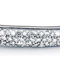 Monica Vinader Metallic Fiji Diamond Bar Bracelet