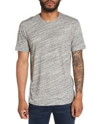 Calibrate - Gray Texture T-shirt for Men - Lyst