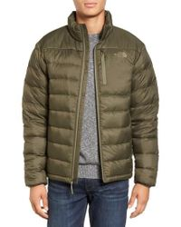 The North Face Green 'aconcagua' Goose Down Jacket for men