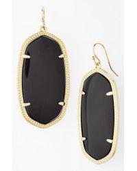 Kendra Scott - Metallic Danielle - Large Oval Statement Earrings - Lyst