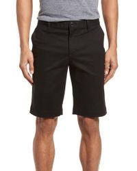 Lacoste - Black Slim Fit Chino Shorts for Men - Lyst