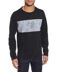 Jason Scott - Gray Distressed Print Slim Fit Crewneck T-shirt for Men - Lyst