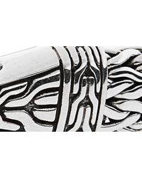 John Hardy Metallic Men's Classic Chain Silver Hook Bracelet for men