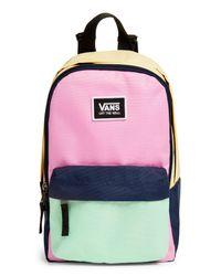 Vans Pink Colorblock Backpack