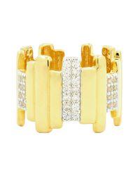 Freida Rothman Yellow Radiance Cubic Zirconia Ring