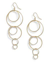 Gorjana - Metallic Wilshire Multi Loop Drop Earrings - Lyst