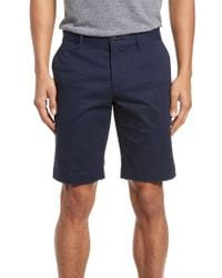 Lacoste - Blue Slim Fit Chino Shorts for Men - Lyst