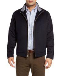 Peter Millar - Blue Westport Wool & Cashmere Jacket for Men - Lyst