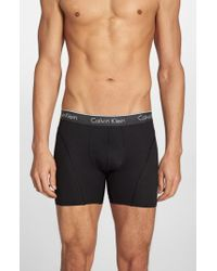 Calvin Klein Black Air Fx Low Rise Boxer Briefs for men