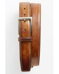 Magnanni Shoes Metallic 'catalux' Belt for men