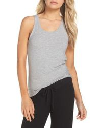 Honeydew Intimates - Gray Honeydew Racerback Tank - Lyst