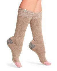 Ugg | Multicolor Ugg Colorblock Wool Blend Socks | Lyst