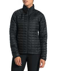 The North Face Black 'thermoball Triclimate' Waterproof Jacket
