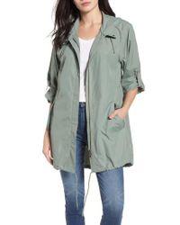 Caslon - Green Caslon Tumbled Anorak Jacket - Lyst