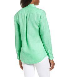 Tommy Bahama Green Sea Glass Breezer Top