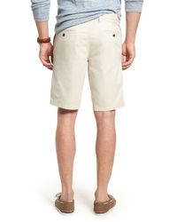 1901 Natural Ballard Slim Fit Stretch Chino 11-inch Shorts for men