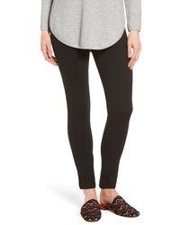 Anne Klein Black Compression Slim Leg Pants