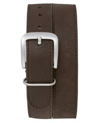 Shinola - Brown G10 Leather Belt for Men - Lyst