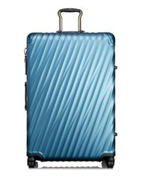 Tumi - Blue 19 Degree Extended Trip Wheeled Aluminum Packing Case for Men - Lyst