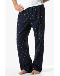 Polo Ralph Lauren - Blue Print Lounge Pants for Men - Lyst