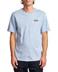 Brixton Blue Palm Premium T-shirt for men