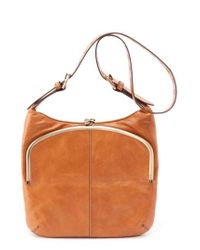 Hobo Brown Minette Shoulder Bag