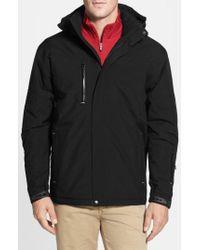 Cutter & Buck Black Weathertec Sanders Jacket for men