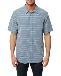Jack O'neill - Blue Slow Ride Sport Shirt for Men - Lyst