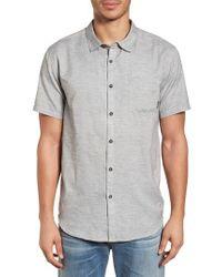 Billabong - Gray All Day Helix Woven Shirt for Men - Lyst