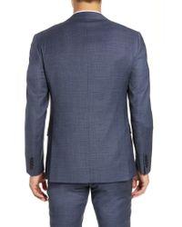 Bonobos Blue Jetsetter Slim Fit Suit Jacket for men