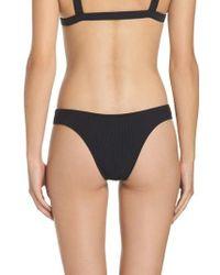 Minimale Animale | Blue Ribbed Bikini Bottoms | Lyst