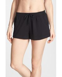 DKNY - Black 'city Essentials' Shorts - Lyst