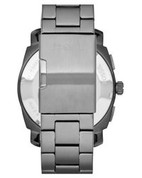 Fossil Gray 'machine' Chronograph Bracelet Watch for men