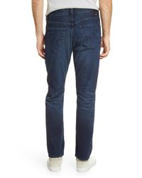 AG Jeans Blue Everett Slim Straight Leg Jeans for men