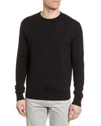 Peter Millar Black Crown Crewneck Sweater for men