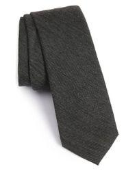 Calibrate | Gray Melange Woven Skinny Tie for Men | Lyst
