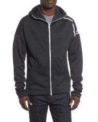 Adidas Multicolor Zne Fast Release Hooded Jacket for men