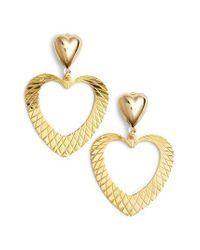 Frasier Sterling - Metallic With Love Drop Earrings - Lyst