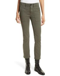 The Great | Green The Army Nerd Pants | Lyst