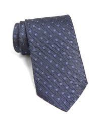 John Varvatos - Blue John Varvatos Star Usa Dot Silk Tie for Men - Lyst